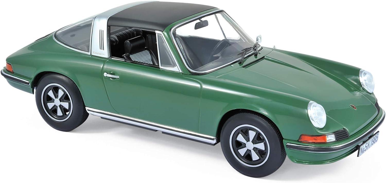Green Norev 187632 Porsche 911 S Targa 1973