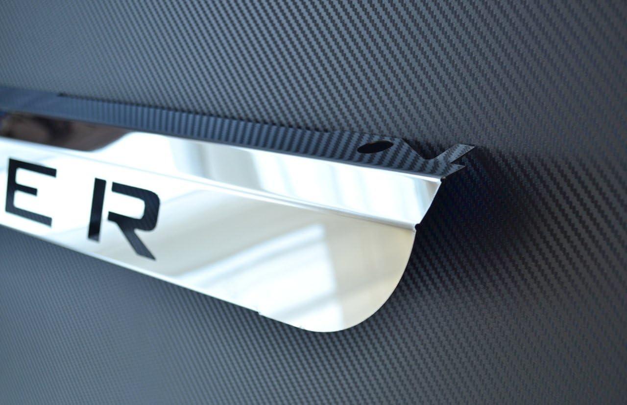 Parrilla delantera de acero inoxidable pulido parachoques inferior para Scania R 2010-2015 superinsignia