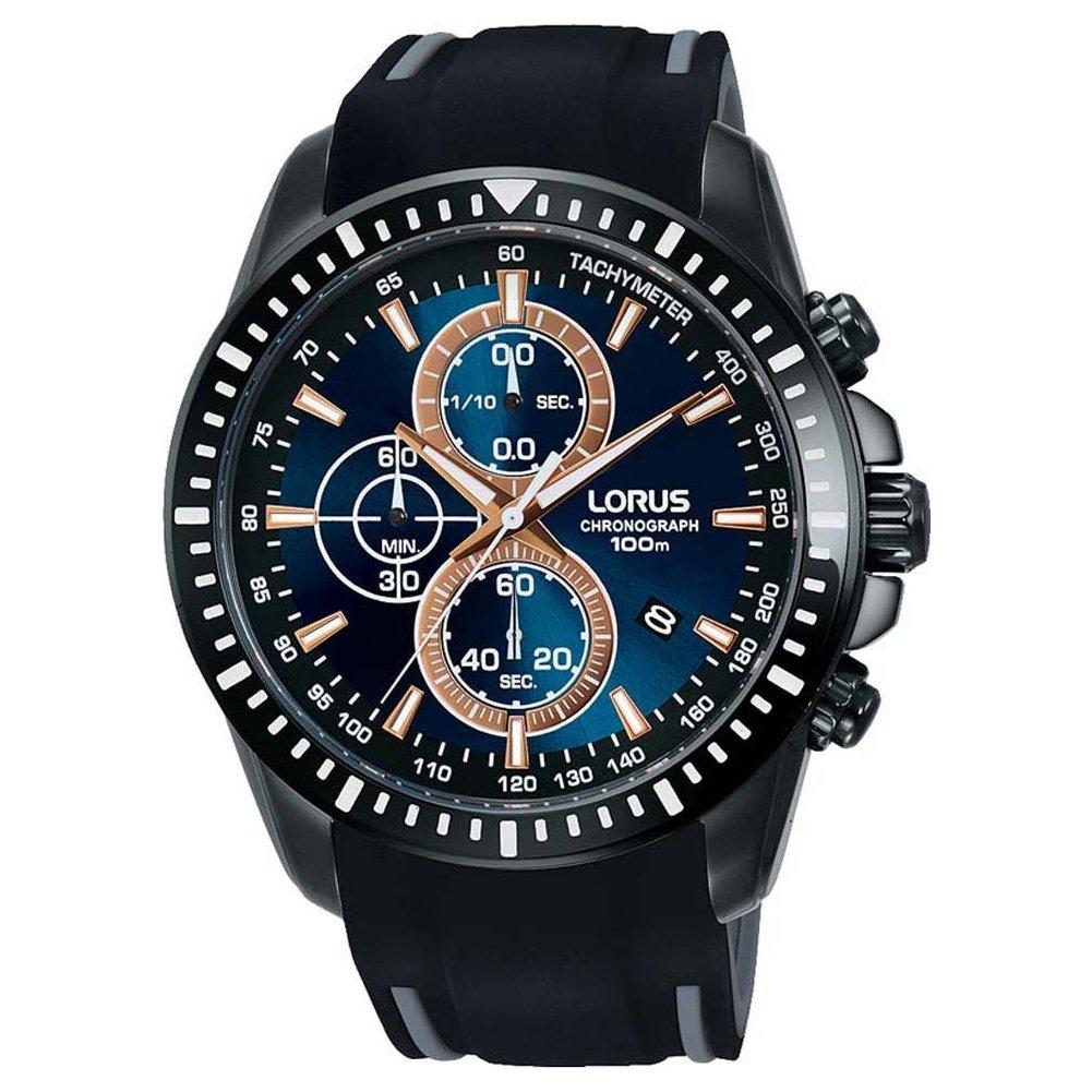 Chronograph Uhr Armband Herren Lorus Quarz Silikon Mit Rm353dx9 TFlK1cJ3