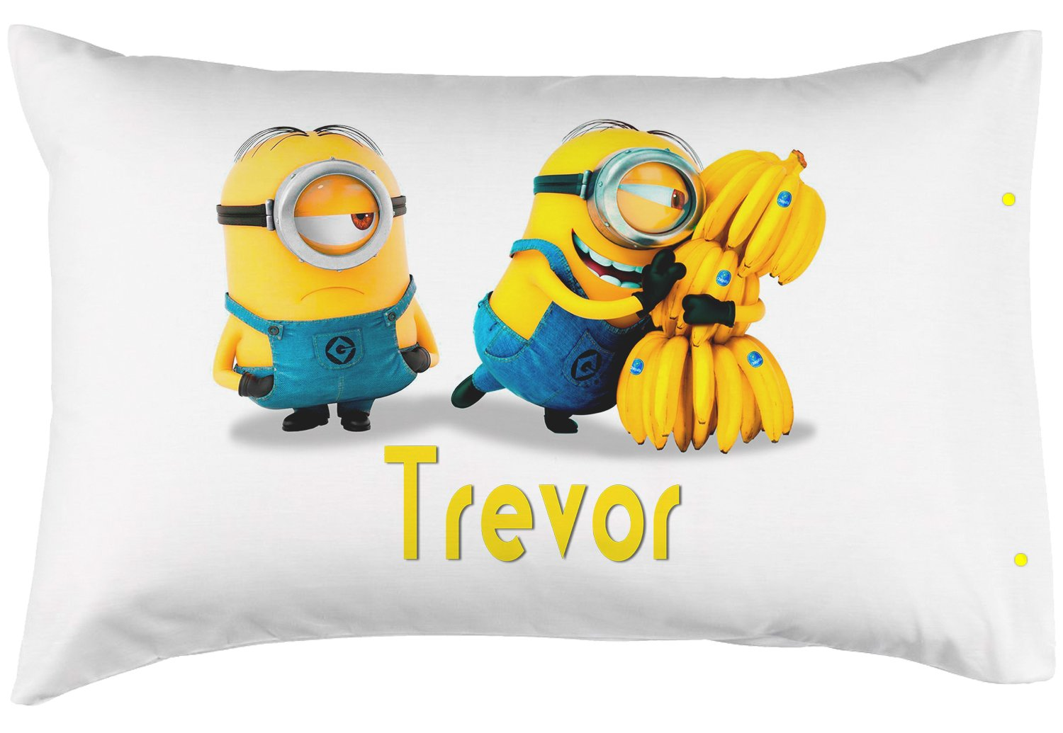 PersonalizedPillowcase Childrens Minions 100/% Super Soft Microfiber! Perfect Custom Gift for Children of All Ages Standard 20X30 Customized with Your Childs Name!