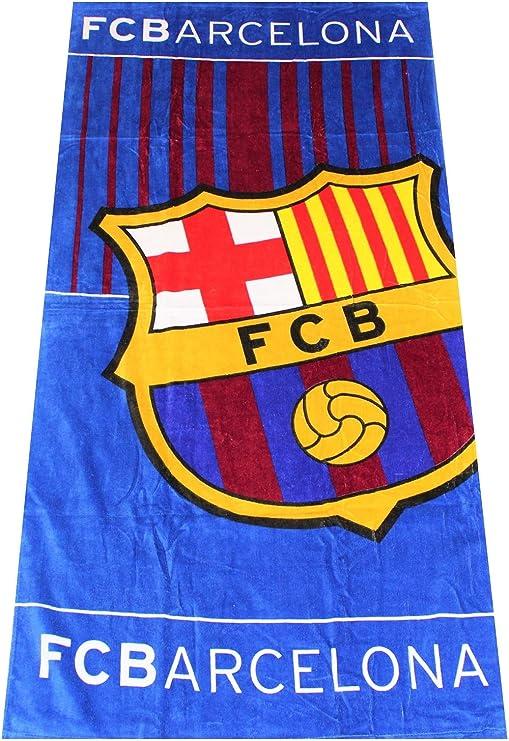 FCB Toalla de fútbol FC Barcelona, Toalla de Playa, Toalla de ...