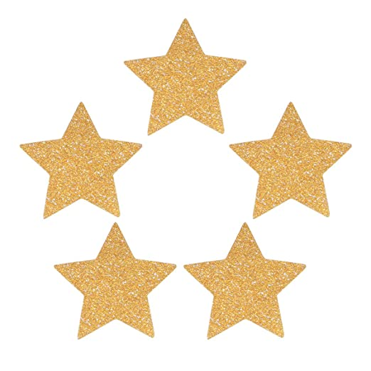 BESTONZON 100 Piezas de decoración de Confeti Estrella para ...