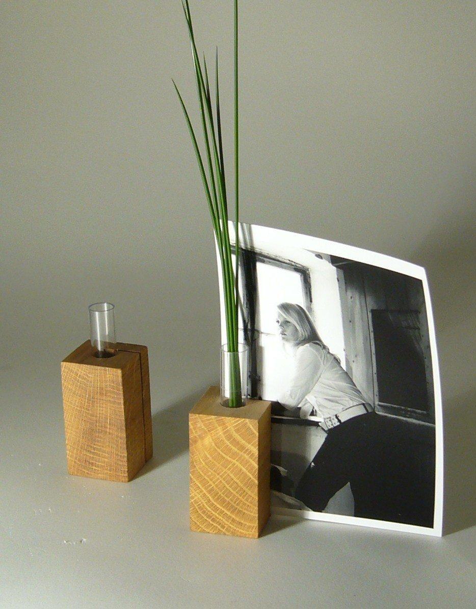 Kartenhalter- Blumenvase- Kerzenhalter Cuby
