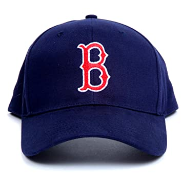 MLB Boston Red Sox LED Light-up Logo Gorra Ajustable: Amazon.es ...