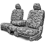 Custom Seat Covers for Ford Transit Full Front Low Backs - Digital Gray Camo