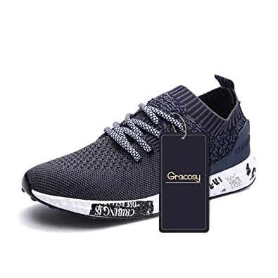 Los Angeles 79a51 2e083 gracosy Casual Sport Shoes, Men Women Daily Walking Shoes Athletic Sports  Sneakers