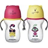Tommee Tippee Natural Transition Soft Spout Sippy Cup, Girl - 12+ Months, 2pk