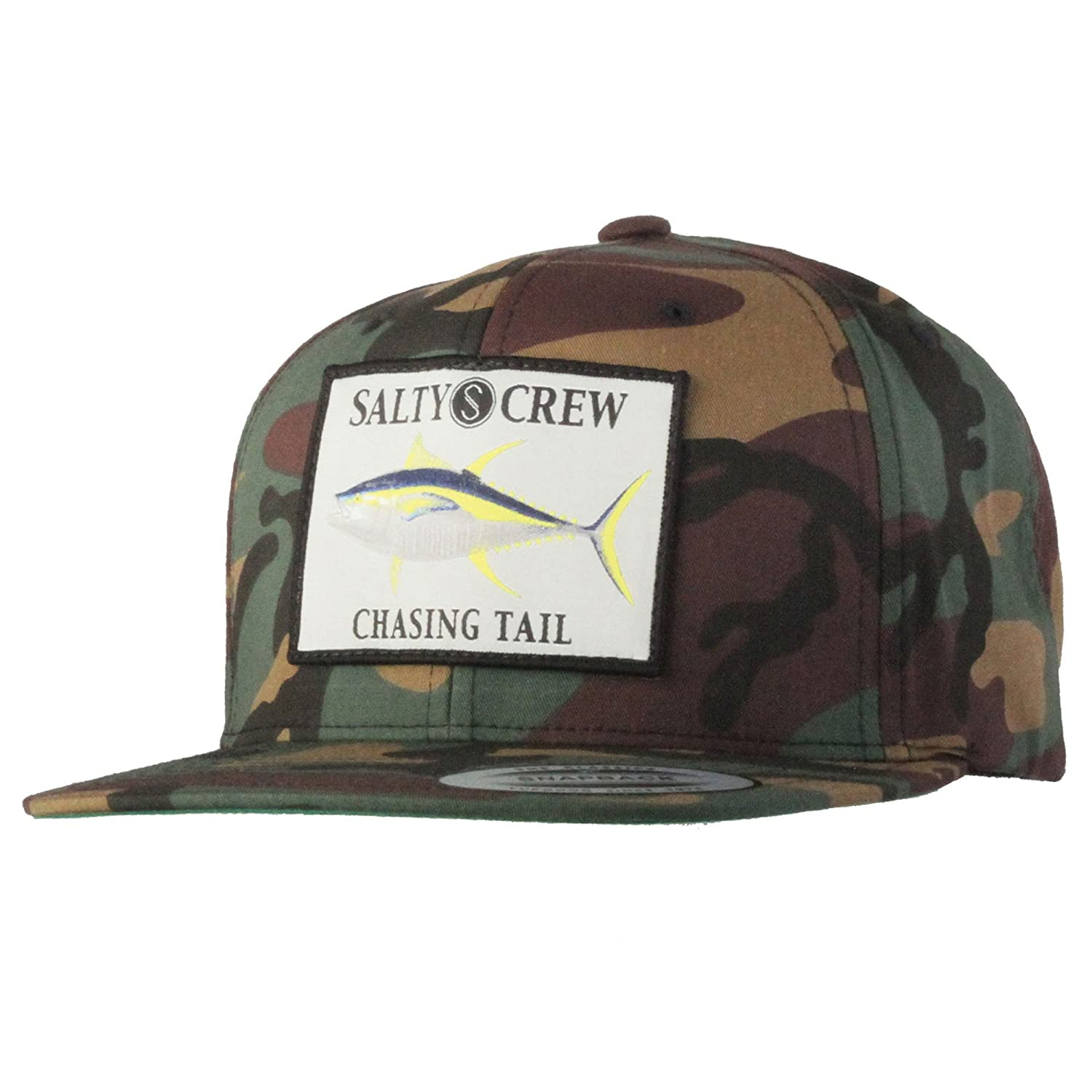 07b57783306 Salty Crew Men s Ahi Patched Hat