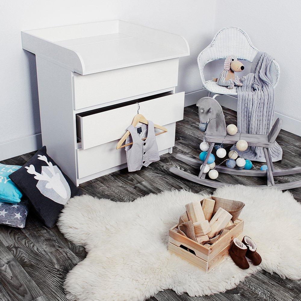 KAGU Fasciatoio per il cassettone MALM di Ikea Bianco con contorni ...