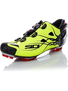 Sidi TIGER Carbon SRS MTB Cycling Shoes - Bright Yellow