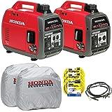 Honda EU2000i and EU2000ic Companion Inverter Generator Parrallel Combo Kit