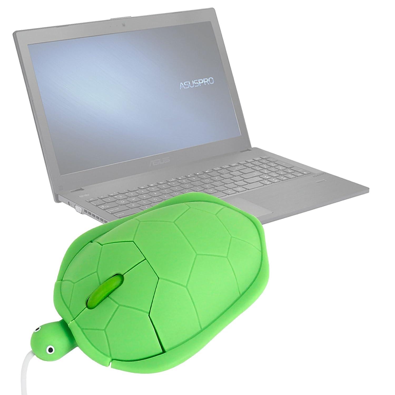 DURAGADGET Ratón con Forma De Tortuga para Ordenador portátil ASUS P2520SA | P2520LA | HP 255 G4: Amazon.es: Electrónica