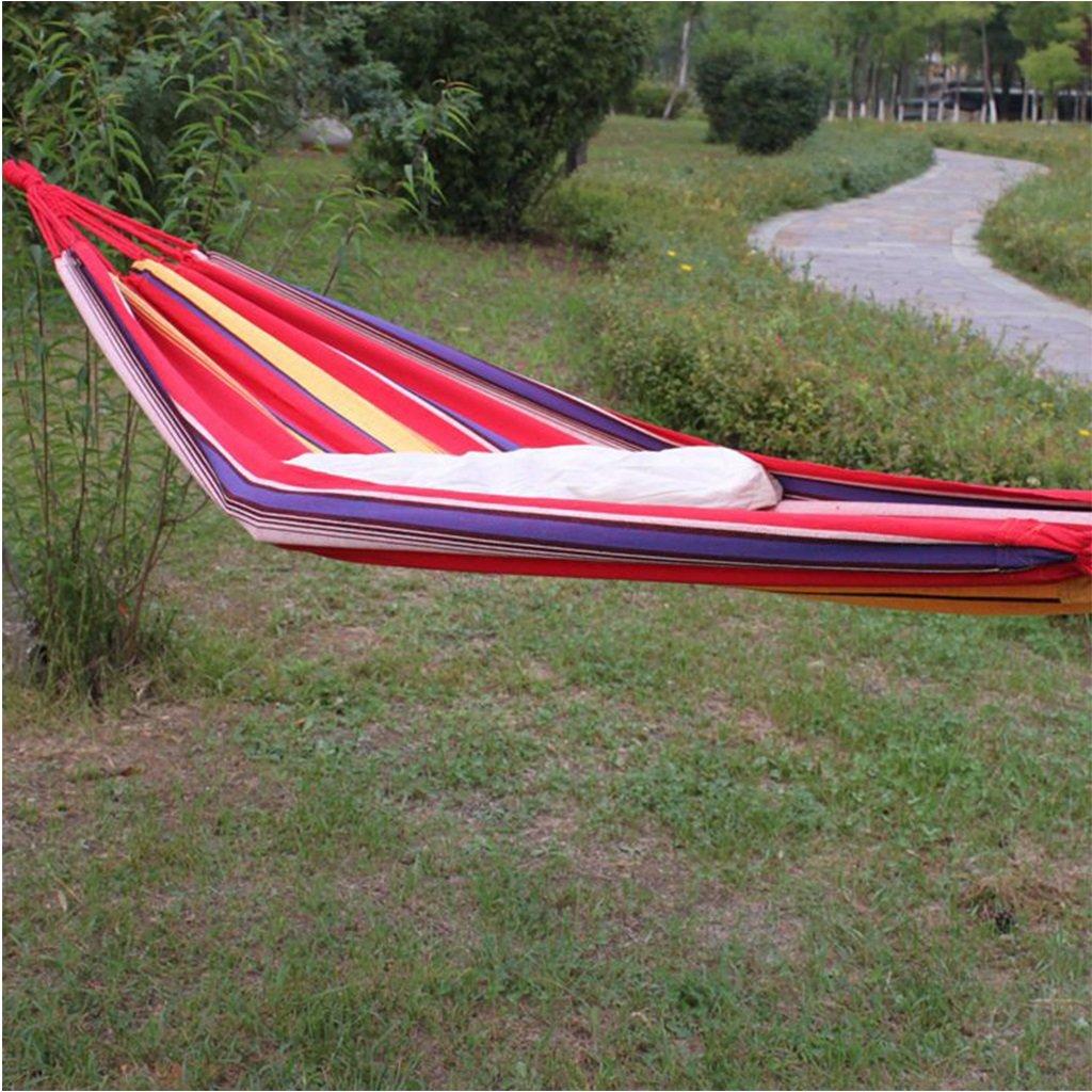 ShenZuYangShop freien Erwachsenen leinwand zuhause hängenden blätter doppel-innen-Balkon Camping schlafsaal schaukel