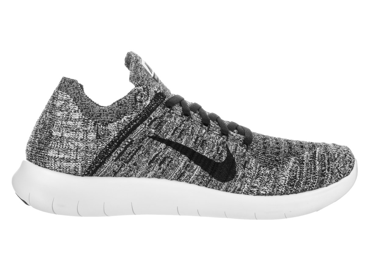 Nike Women's Free Rn B01F9I6KGA Flyknit 2017 Running Shoes B01F9I6KGA Rn 9 B(M) US|White/Black 621567