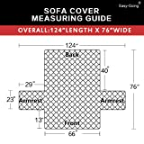 Easy-Going Sofa Slipcover Reversible Sofa Cover