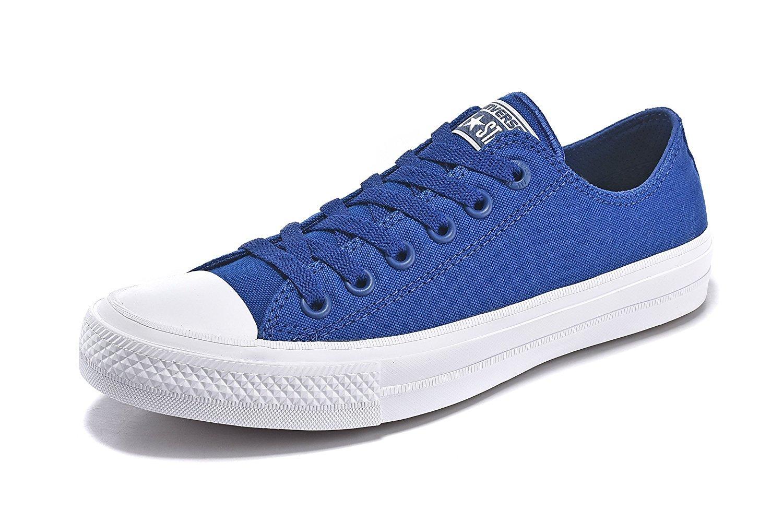 Converse Unisex Low Top Chuck Taylor All Star II Canvas Shoes B01HAFU2X2 11 US W/9 US M/EUR 42.5|Sodalite Blue