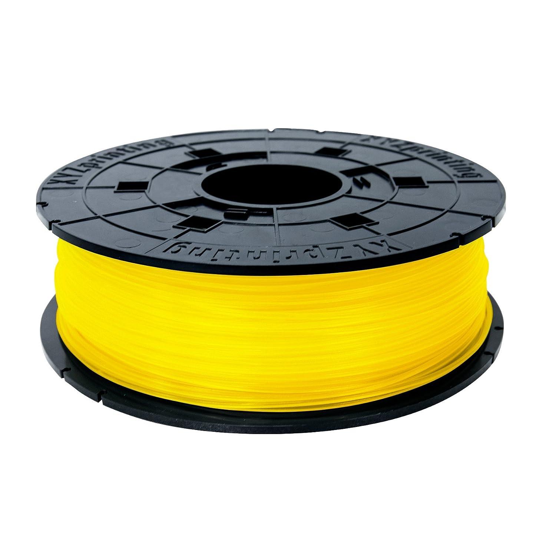 XYZprinting RFPLCXEU0EC Bobina de Filamento de PLA de diámetro 1.75 mm, Amarillo XYZ printing