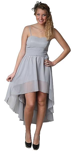 Bonbs - Vestido de ceremonia, fiesta, cóctel, boda, vestido, dama de honor con hombro corto: Amazon.es: Ropa y accesorios