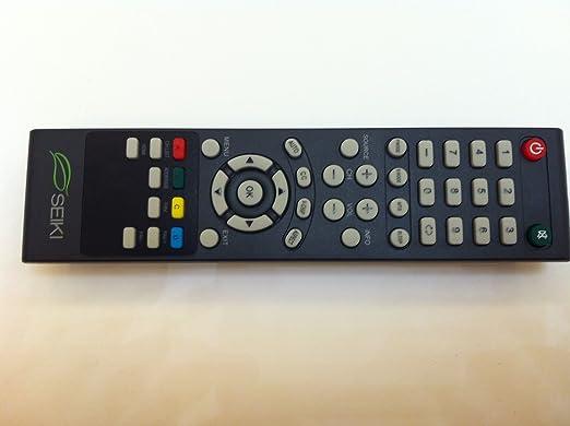 Mando a distancia para televisor Seiki SEIKI SE32HY27 SE20HS02 SE48FY19 SE22FR01 TV SE70GY03 SE65JY25 SE60GY05 SE55GY04 SE55GY07 SE50FY10 SE50UY04 SE50FY04 SE46FY10 SE46FT03 SE42FY08: Amazon.es: Electrónica
