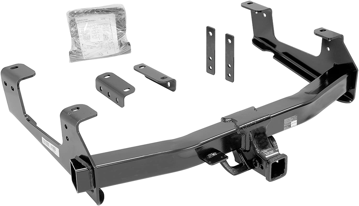 Reese Towpower 96938 Class V Ultra Frame Custom-Fit Hitch with 2 Square Receiver opening