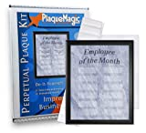 Employee of The Month DIY Perpetual Plaque Magic