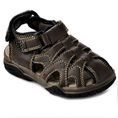 42c940ee2fcf Amazon.com | SONOMA life + style? toddler boys Sandals (6M) brown | Sandals