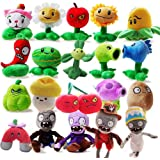 "OliaDesign Plants vs. Zombies Plush Toy Set (20 Piece), Small (Lot 15-20cm/6""-8"" Tall)"
