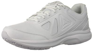Reebok Men's Walk Ultra 6 DMX MAX 2E Shoe, WhiteSteel Wide