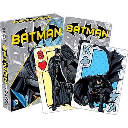 8f153cec0f Amazon.com  DC Comics - Batman Youth Playing Cards by Aquarius  Toys ...