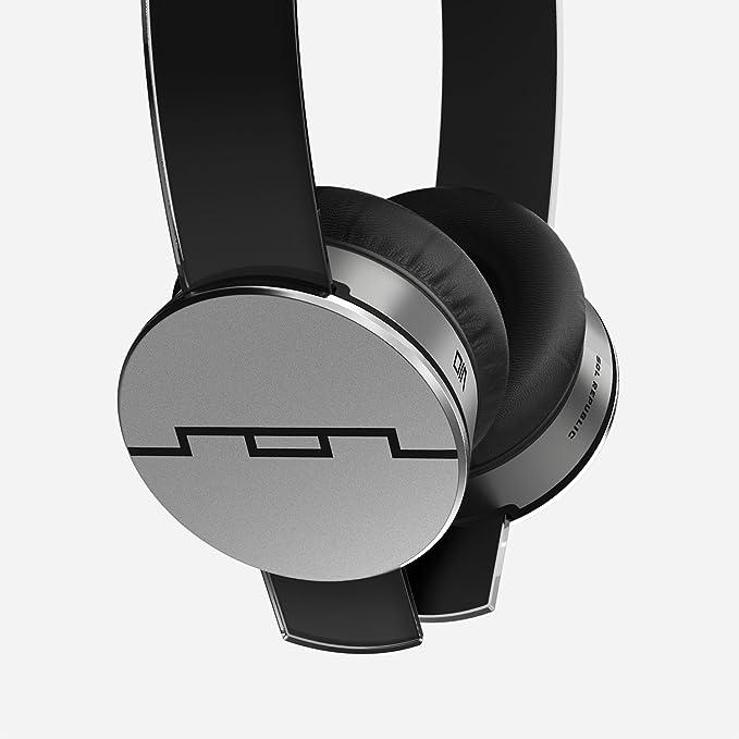 SOL Republic Tracks HD - Auriculares de diadema (con motor de sonido V10, banda intercambiable), color negro: Amazon.es: Electrónica