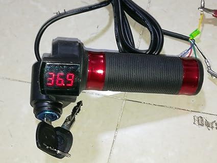 FidgetFidget Throttle Twist Grip - Patinete Eléctrico (3 ...