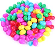 NEWBEA 144 Pcs Plastic Easter Eggs Assortment-2.36