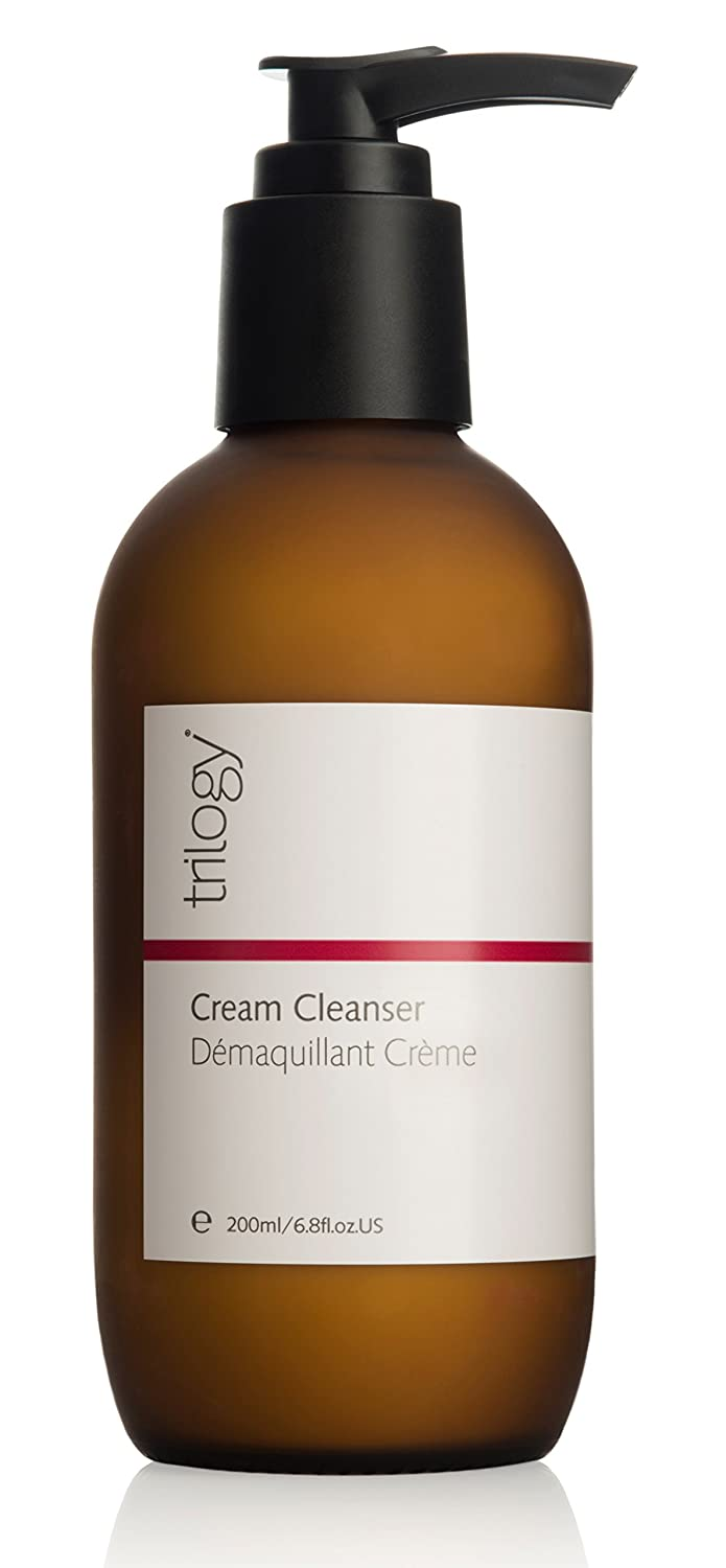 Trilogy Cream Cleanser for Unisex, 6.8 Ounce