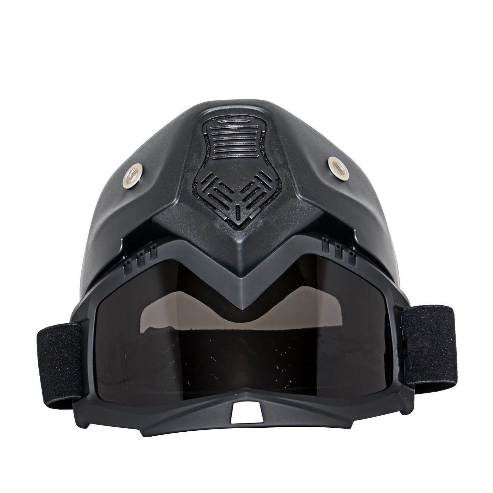 Triclicks Modular Motorcycle Riding Helmet Open Face Mask Shield Goggles Detachable by Triclicks (Image #4)