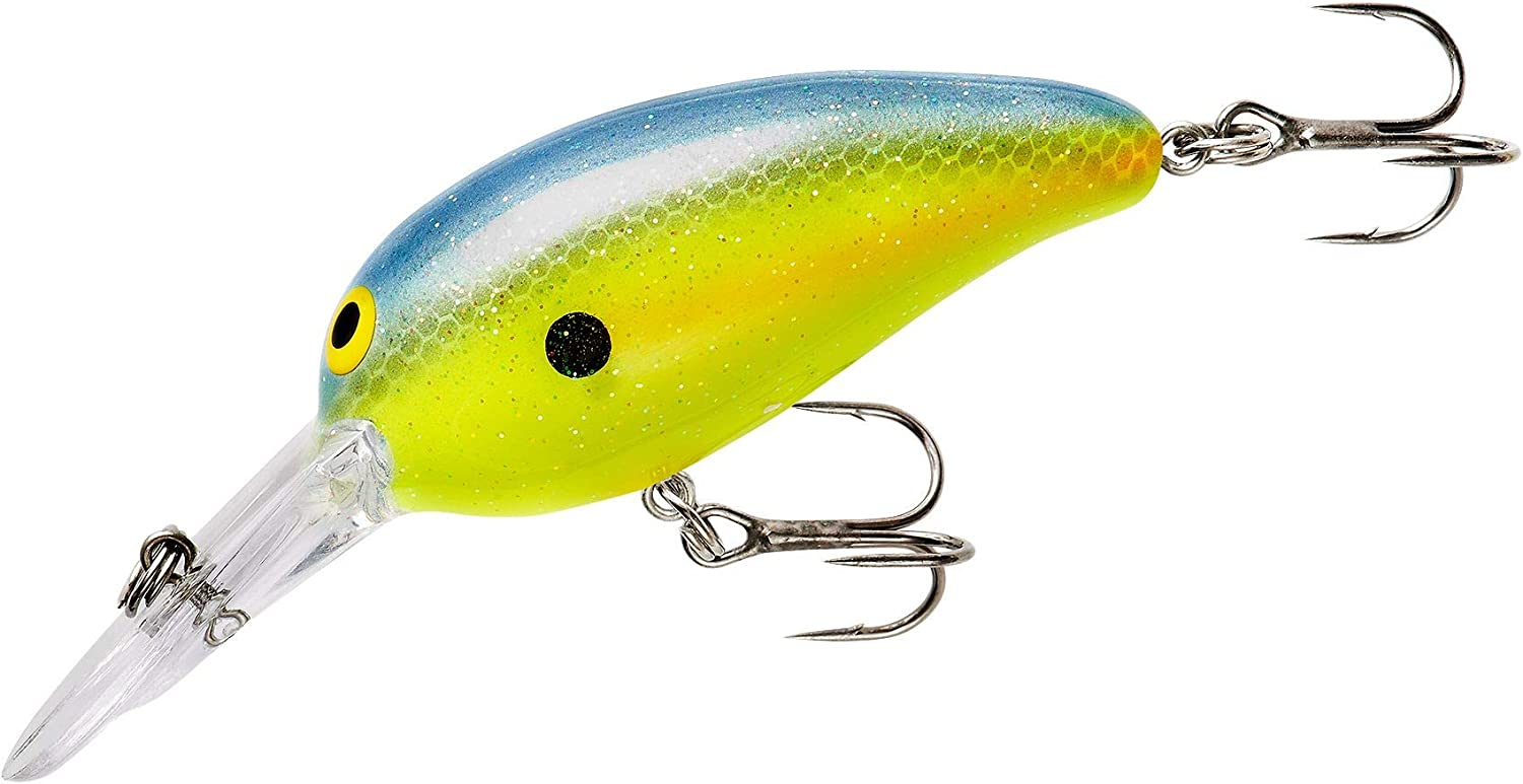 3//8 Ounce 2 Inch Norman Lures Middle N Mid-Depth Crankbait Bass Fishing Lure