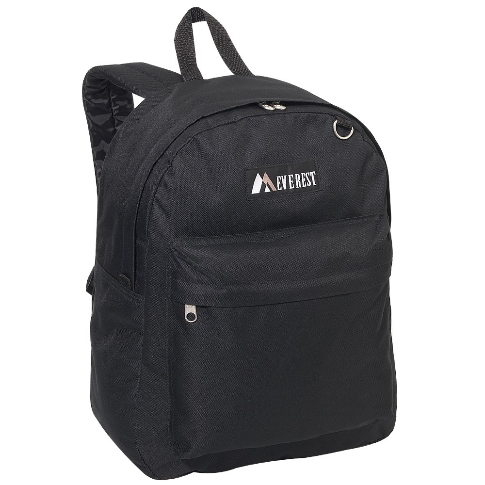 1832ad9e3a5 Amazon.com   Everest Luggage Classic Backpack, Black, Large   Backpacks