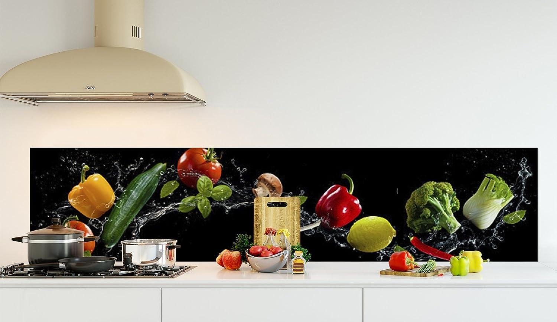 Impression Murale\ - Crédence de cuisine en Panneau composite aluminium\