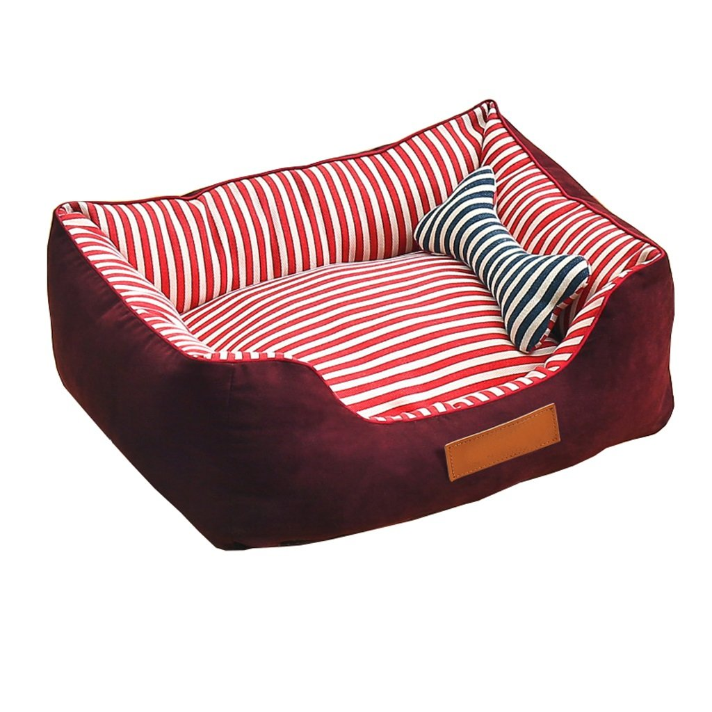 L YJLGRYF Pet Bed Small Cats And Small Dogs Couch Pet Cave For Medium & Large Dogs Pet House (Size   L)