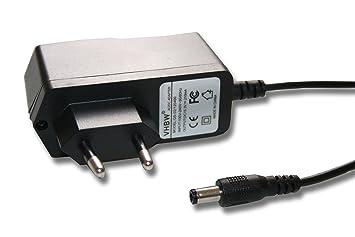 220 V Fuente de alimentación, Cargador 3.2 W (15.3V/210mA) con Conector Redondo para Black & Decker EPC12, 12B, eo Sustituye: HKA-15321.