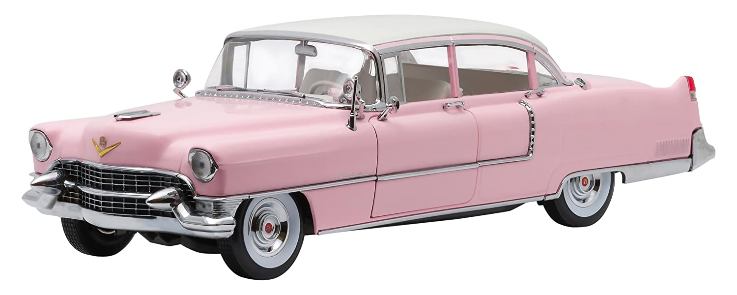 Greenlight Collectibles Elvis Presley Fleetwood 1955 Cadillac Engine Series 60 Pink Vehicle 118 Scale Toys Games
