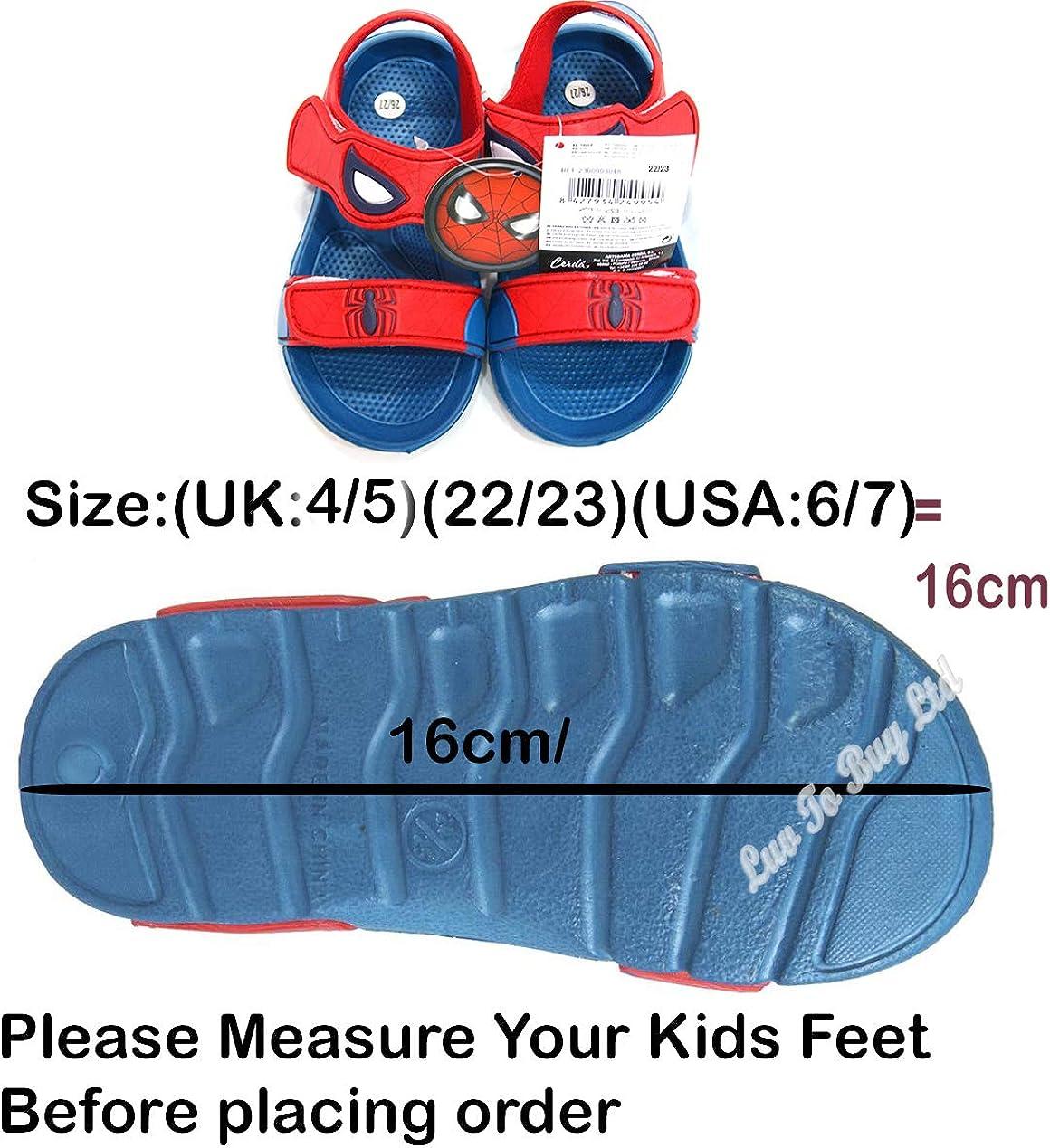 Rojo Azul 23 EU Sandale Plate Mixte Enfant SANDALIAS S0710155