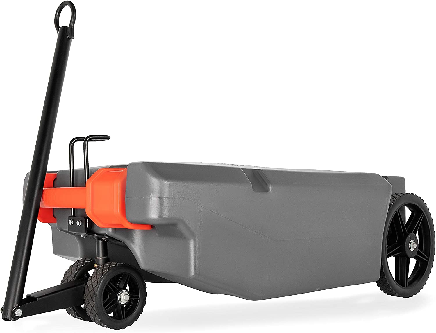Amazon Com Camco Rv Rhino Heavy Duty 36 Gallon Portable Waste Holding Tank With Steerable Wheels Includes Hoses And Accessories 39007 Automotive