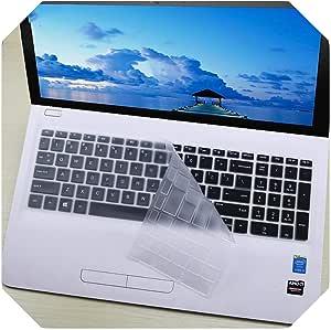 Prot/ège-clavier pour ordinateur portable HP Pavilion 250 G6 250 G7 255 G7 G6 256 G6 258 G7 Notebook PC 15,6 taille unique claire