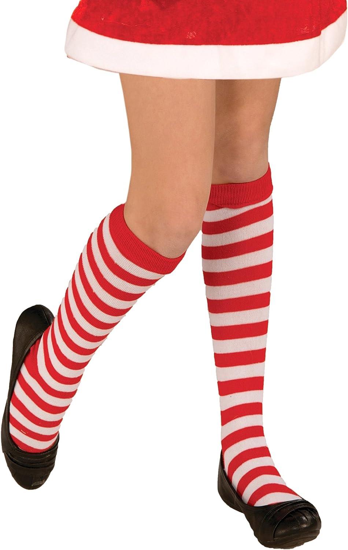 Forum Novelties Inc - Childrens Red/White Striped Socks