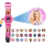 My Party Theme 24 Image Projector Kid's Barbie Watch
