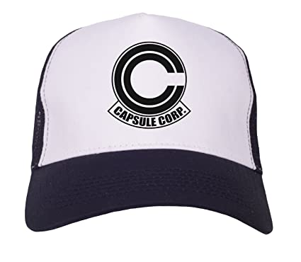 Image Unavailable. Image not available for. Colour  Capsule Corp Trucker Cap 9a9c49baa26