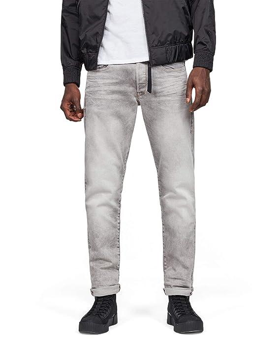 G Raw Homme Straight 3301 Jeans Tapered Star fym7b6vIYg