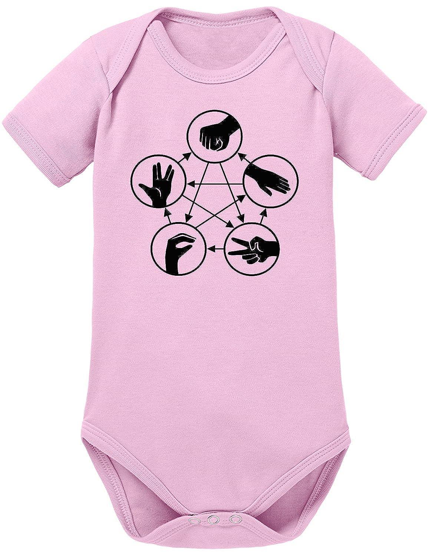 Touchlines Unisex Baby Body Stein Schere Papier Echse Spock Touchlines GmbH 941014BB