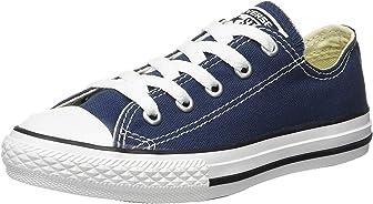 Converse Kids All Star Chuck Taylor - Zapatillas bajas para niños, color azul marino