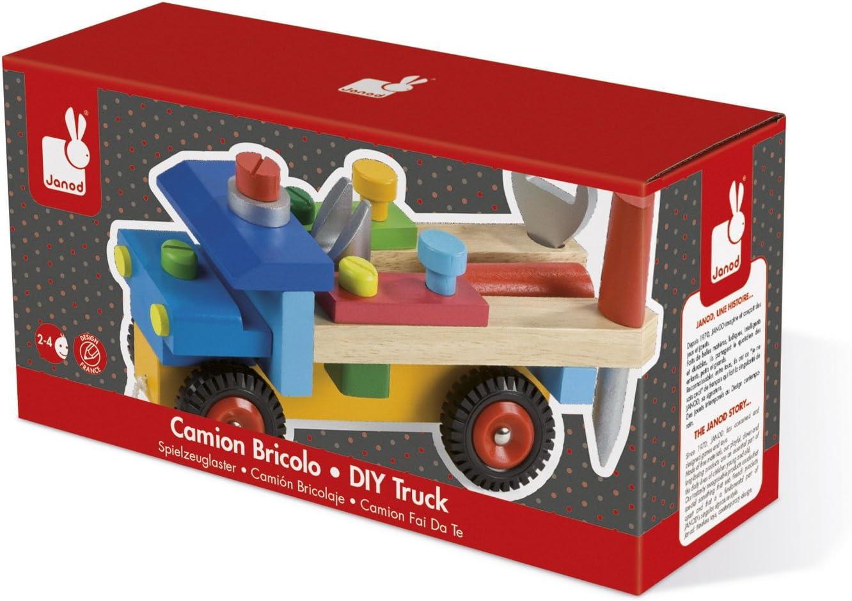 Janod giocattoli di legno – Strumento del camion costruibile